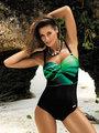 Costum de baie Marko Selena green