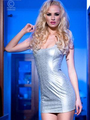 Rochie Ivanna - Argintiu