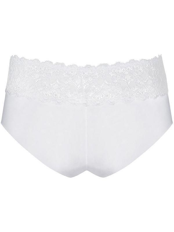 Chilot Obsessive Lacea shorties negru & alb 2 bucati