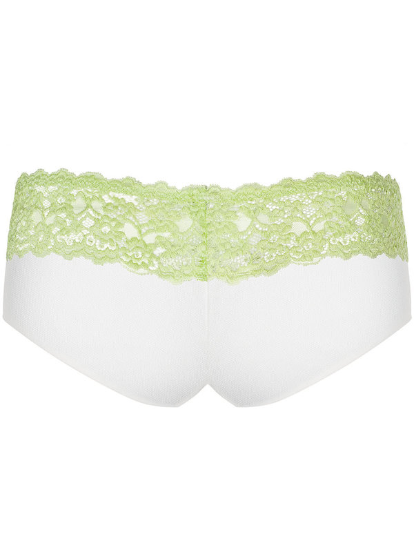 Chilot Obsessive Lacea shorties & thong verde 2 bucati