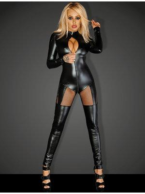 Catsuit Queen - Negru