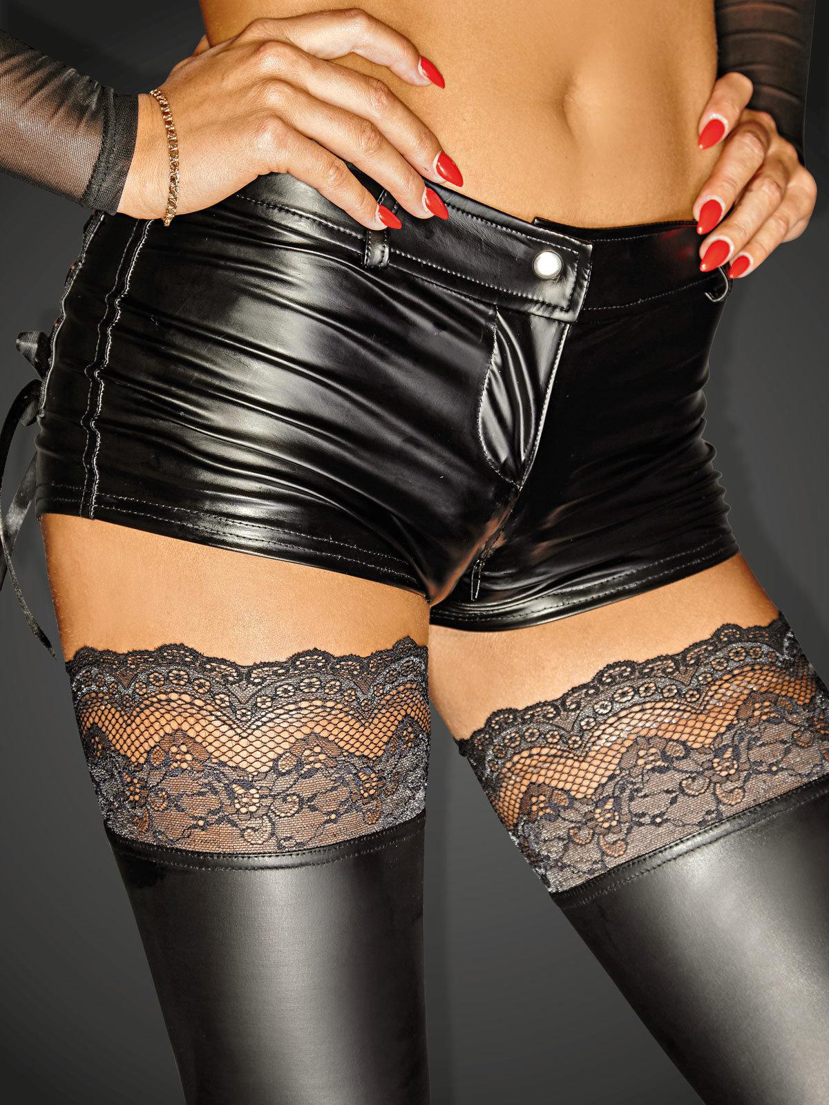Chilot Zipper Negru de la Noir Handmade