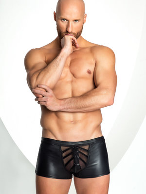 Shorts Provocative - Negru