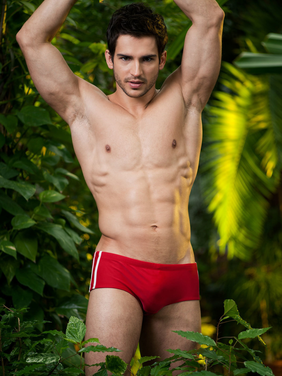 Alpha Male Slip Stylo red Rosu