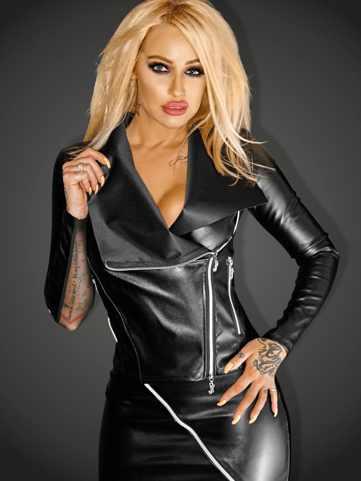 Top Jacket Negru de la Noir Handmade