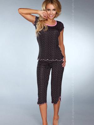 Pijama Model 105 - Negru