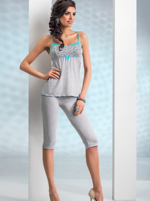 Pijama Michelle - Gri