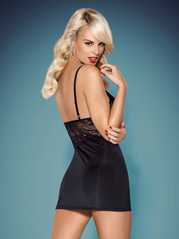Chemise Obsessive 810-CHE chemise and thong