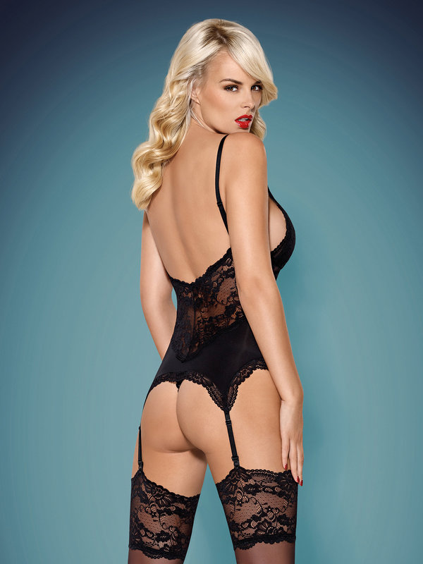Corset Obsessive 810-COR corset and thong