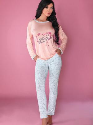 Pijama MODEL 107 - Portocaliu