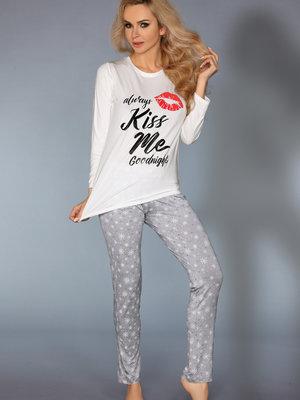 Pijama MODEL 109 - Alb