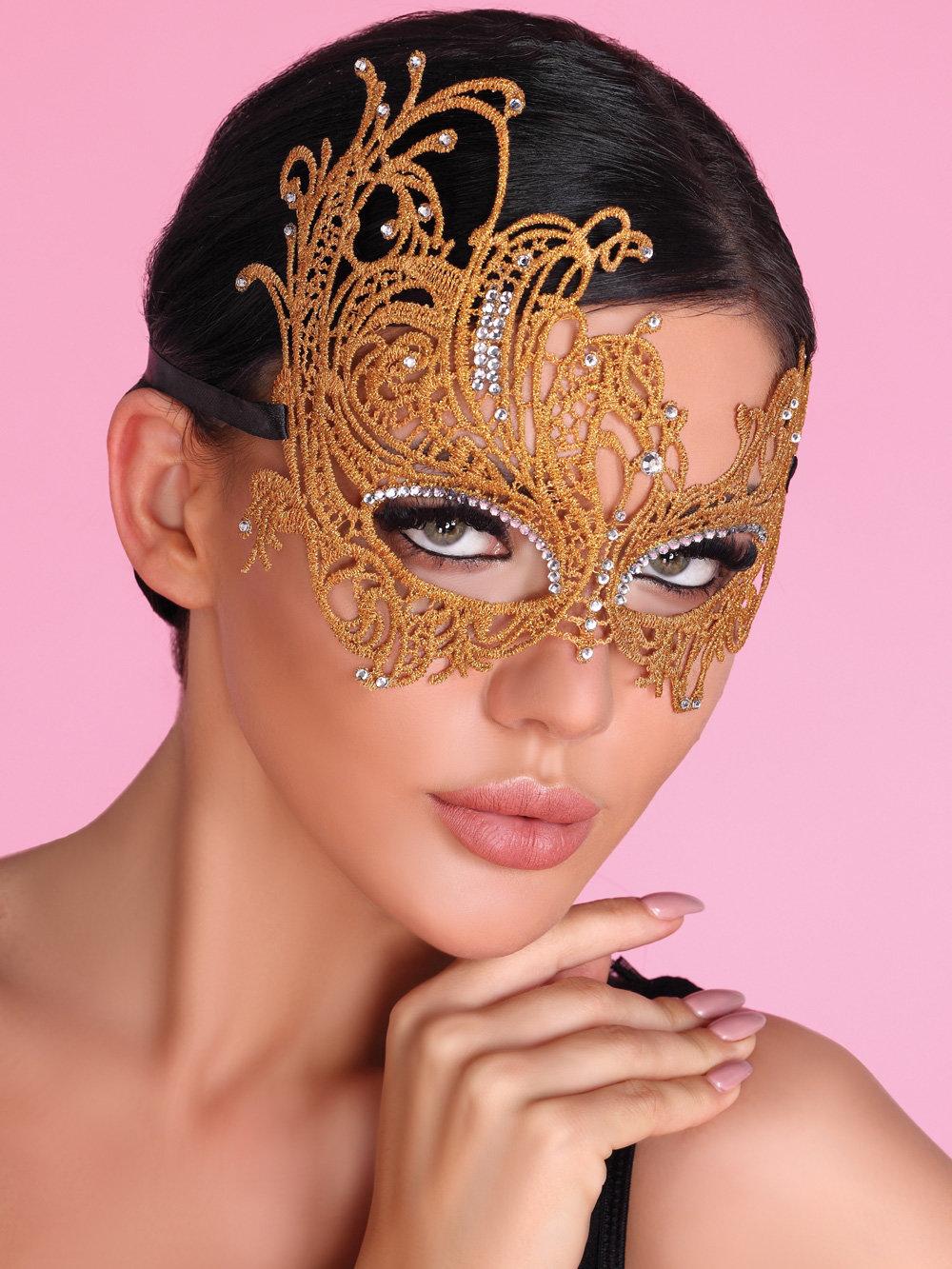 Masca GOLDEN Auriu