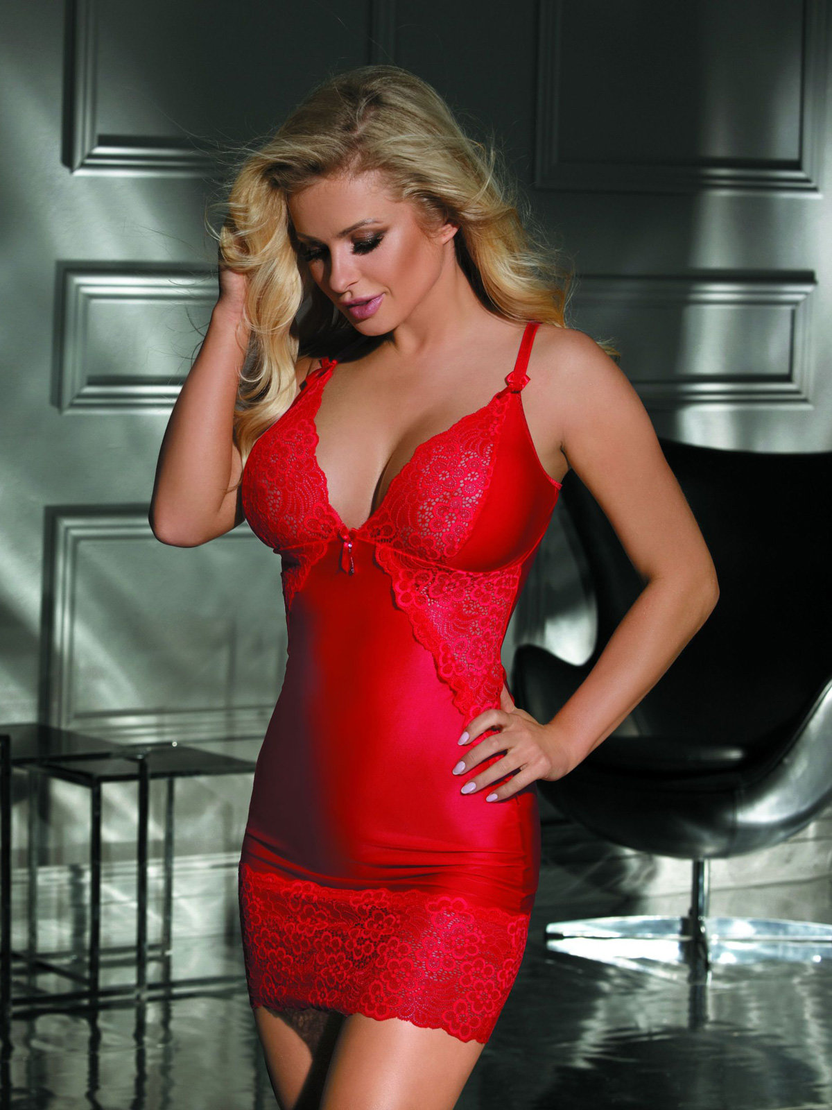 Excellent Beauty Chemise U-820 Rosu