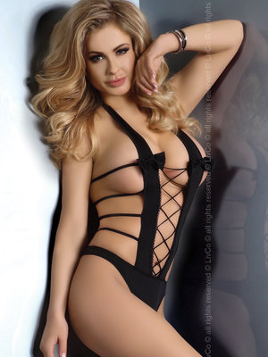 Body DALLAS LC 32536 S/M, - Negru