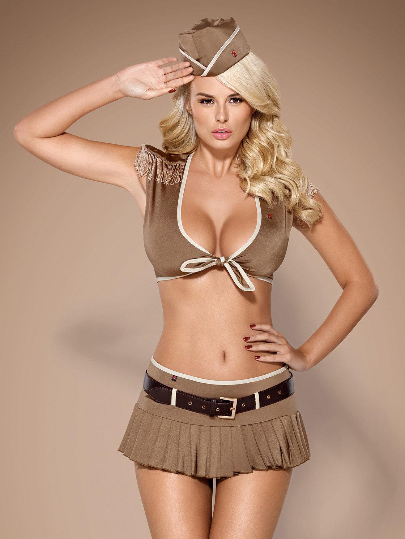 Obsessive Costum 814 – Costum soldat 5-pcs Maro