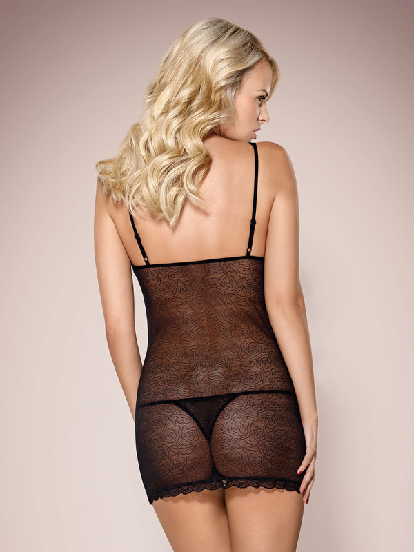 Chemise Obsessive 811-CHE chemise and thong