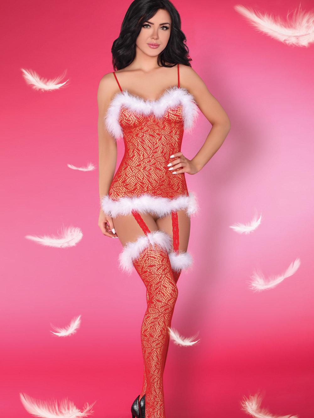 LivCo Costum CATRIONA CHRISTMAS Rosu