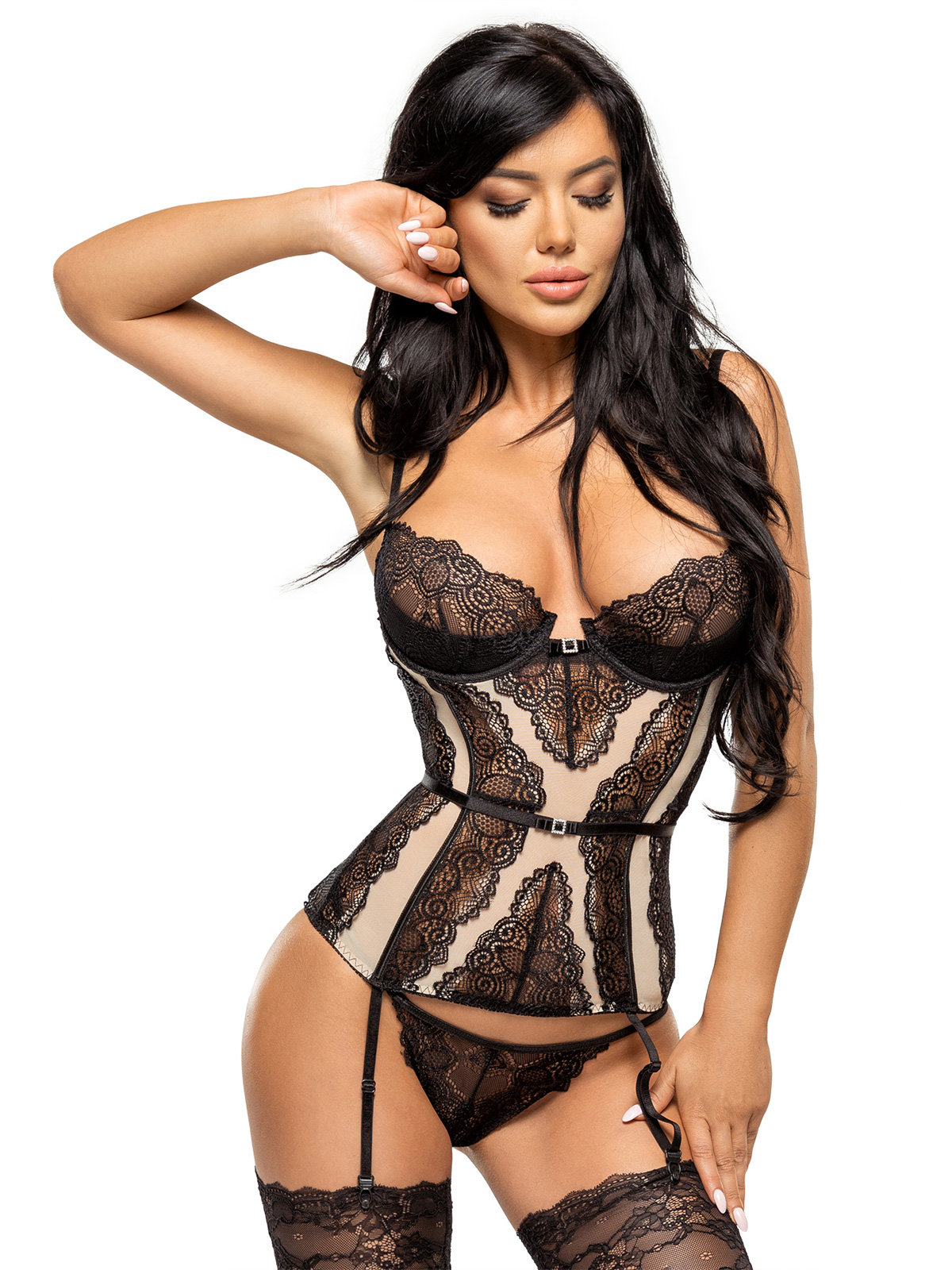 Corset Ravenna corset Bej de la Beauty Night