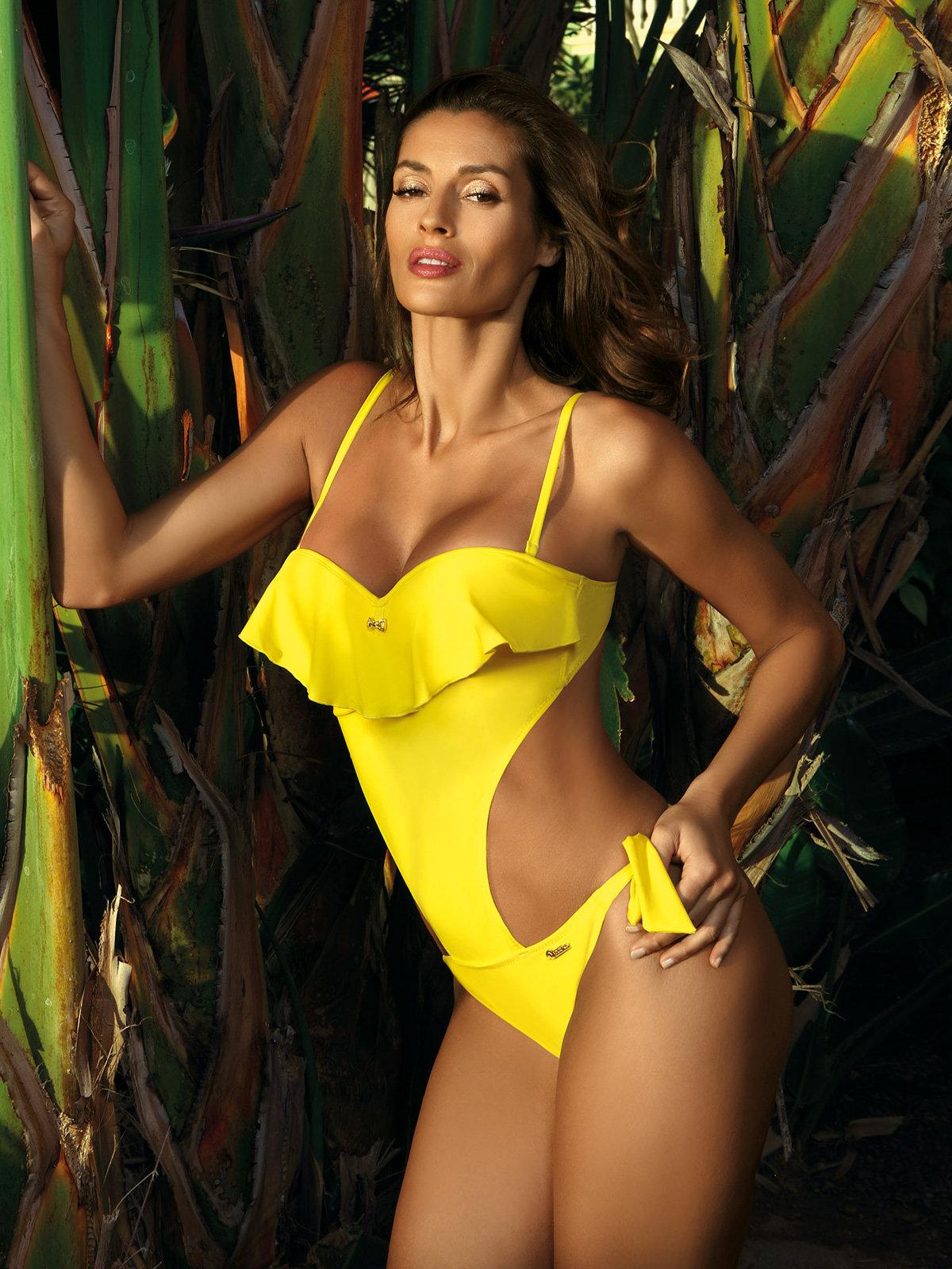 Costum de baie Carmen yellow Galben thumbnail