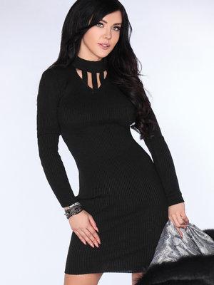 Rochie Yaena Black - Negru