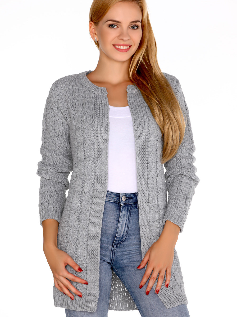 Merribel Cardigan Anionees Gri