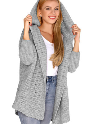 Cardigan Merribel Dalena Grey