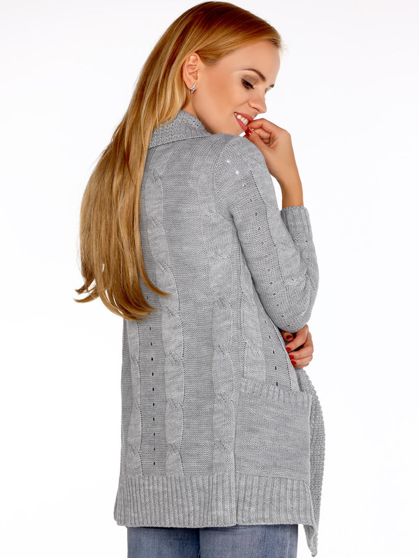 Cardigan Merribel Jimie Grey
