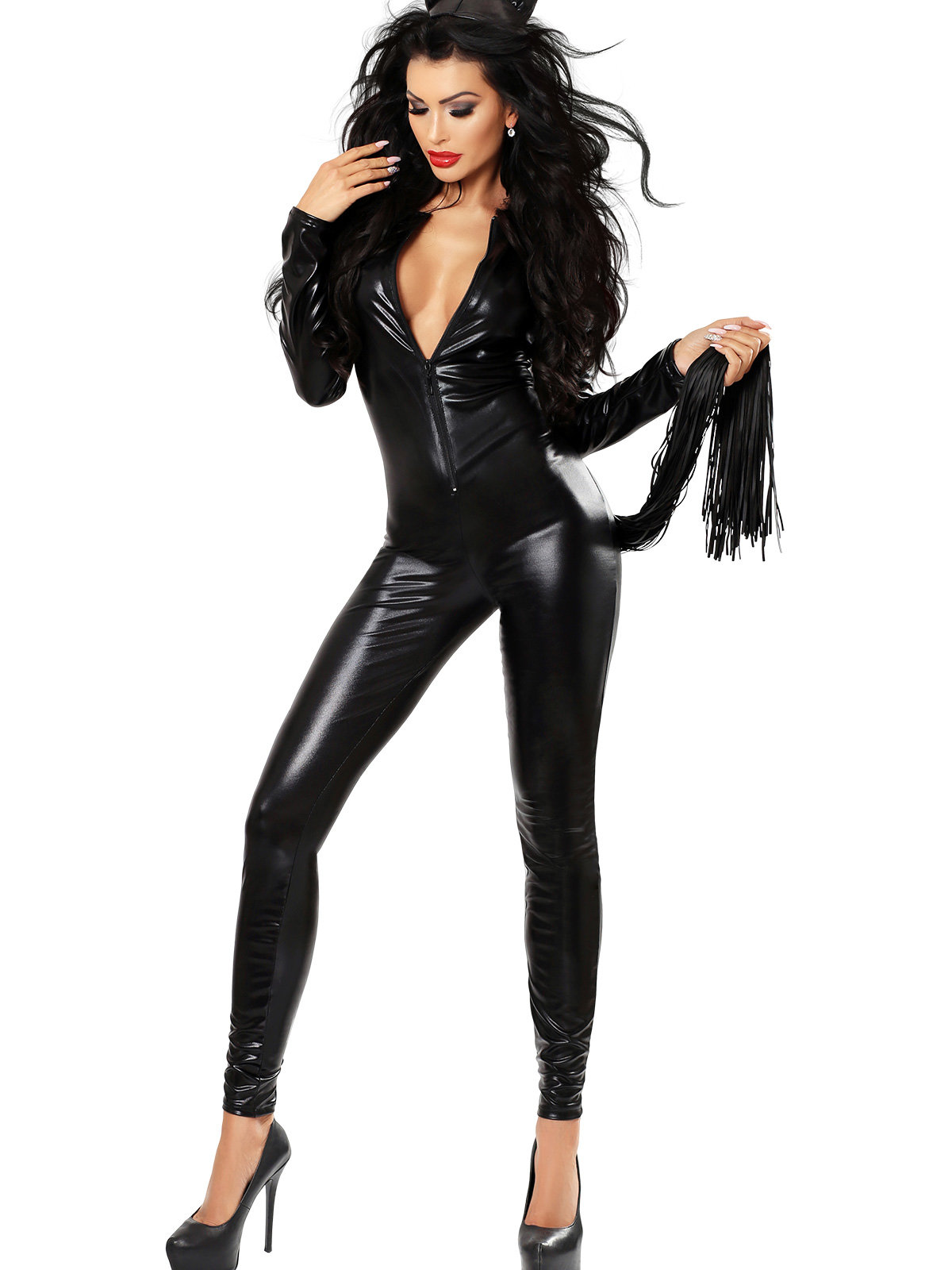 Costum Catchy Negru de la Lolitta