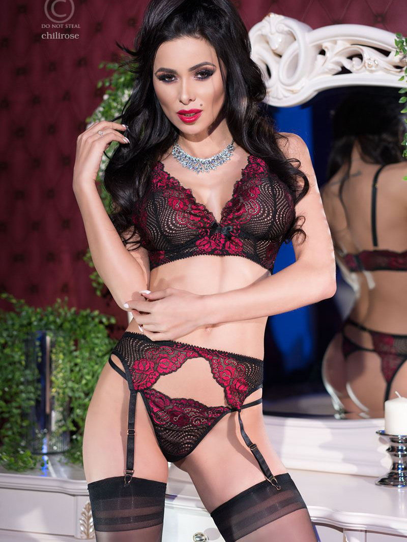 Chilirose Set sexy Alice G Rosu