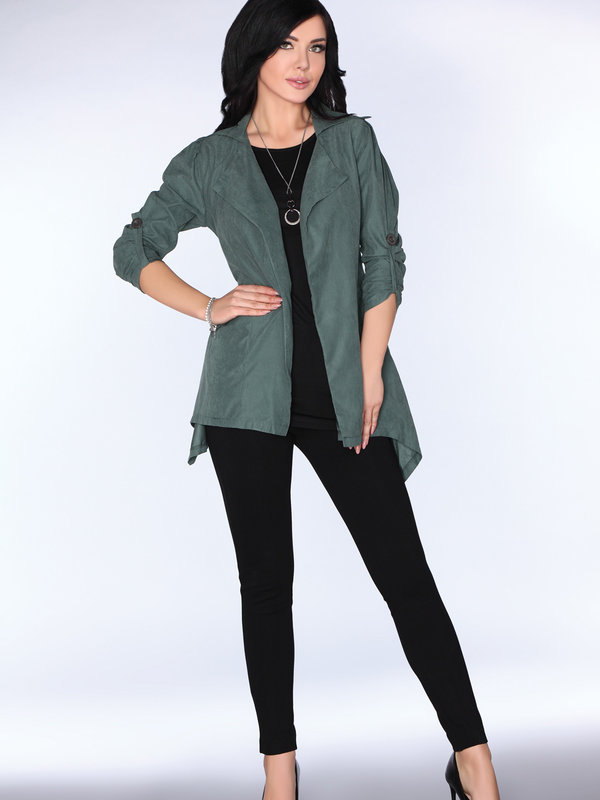 Cardigan Merribel CG026 Dark Green