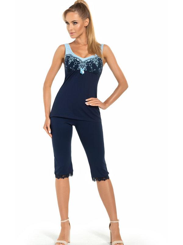 Pijama Donna Karina Blue