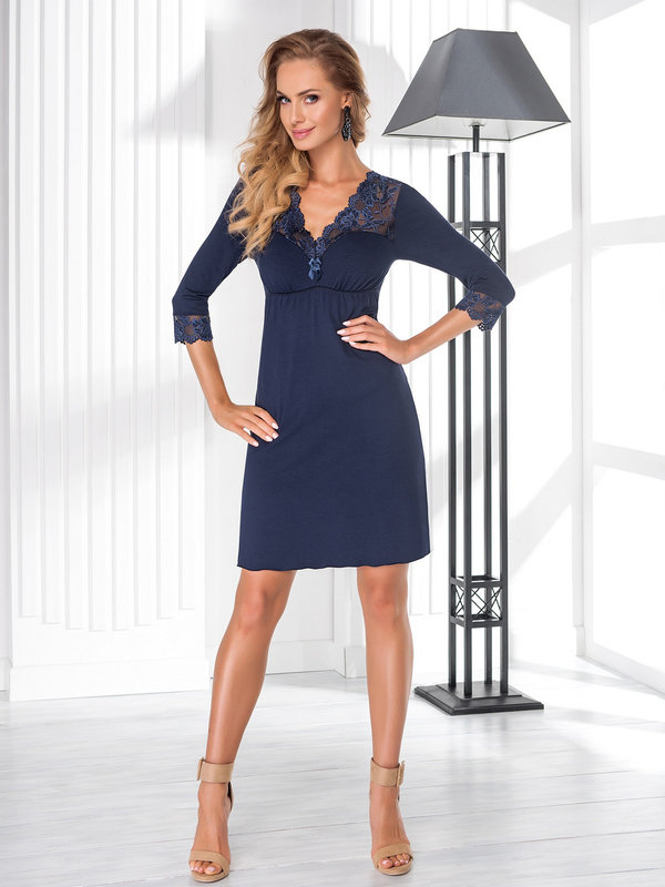Chemise Donna Taylor II Blue