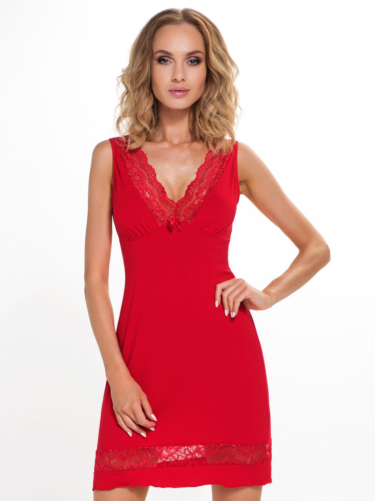 Donna Chemise Stella Red Rosu