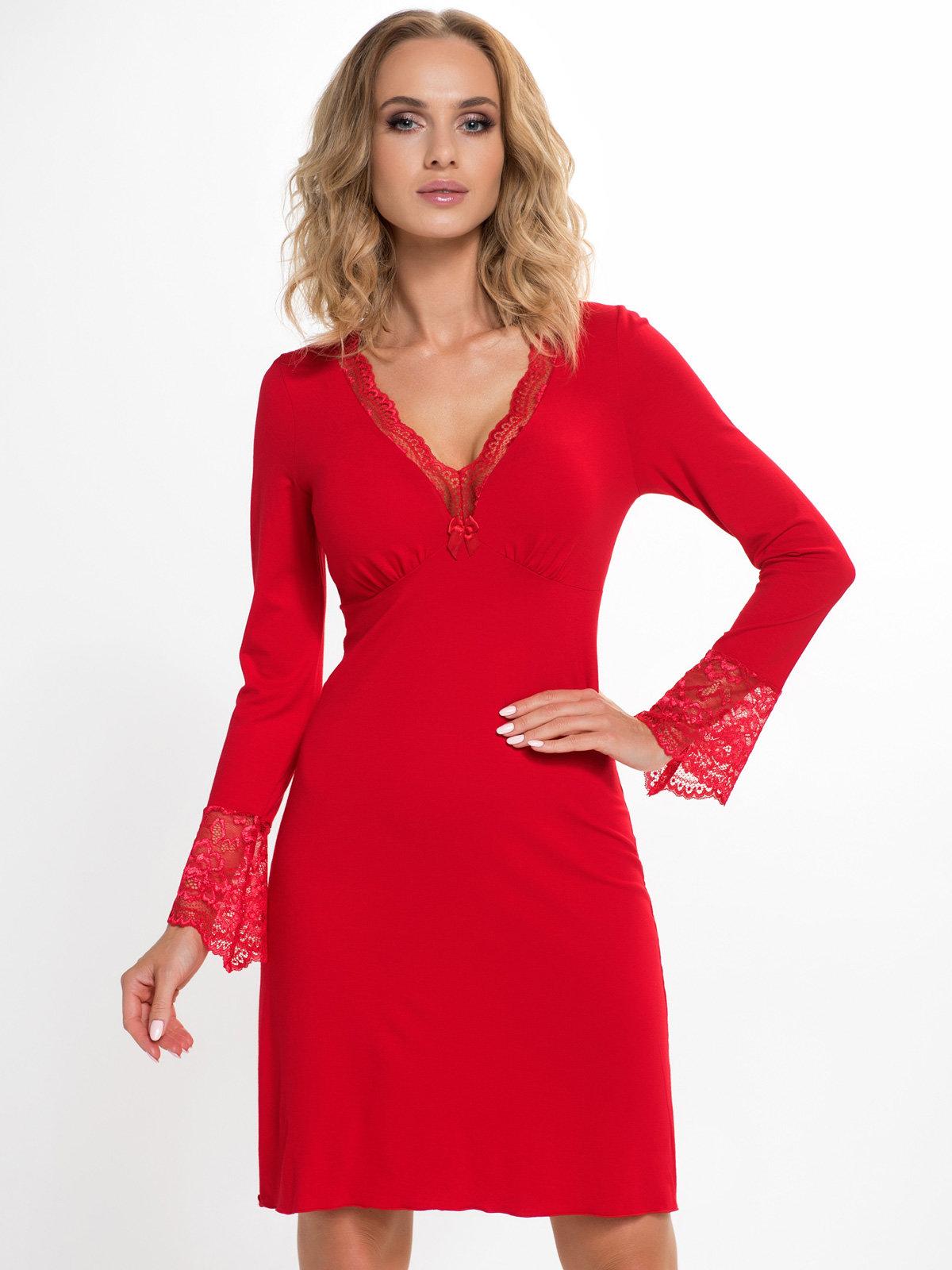 Donna Chemise Stella II Red Rosu