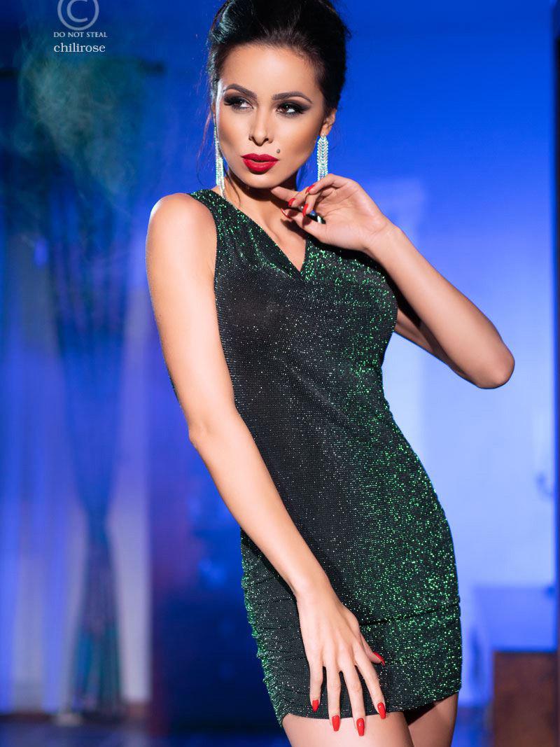 Rochie Katy Verde de la Chilirose