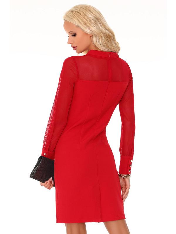 Rochie Merribel Venetiana Red 85373