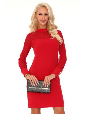 Rochie Venetiana Red 85373 - Rosu