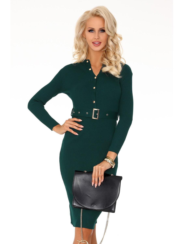 Rochie Anselmi Dark Green FX1746 Verde