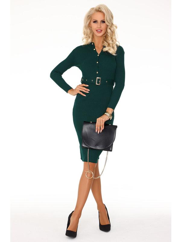 Rochie Merribel Anselmi Dark Green FX1746