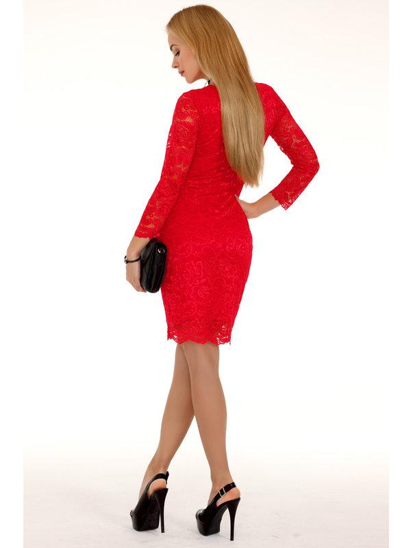 Rochie Merribel 10391D Red