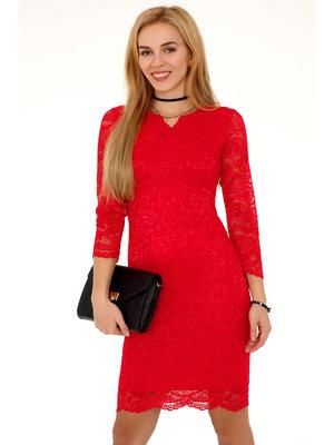 Rochie 10391D Red - Rosu