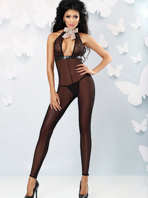 Catsuit Flash - Negru