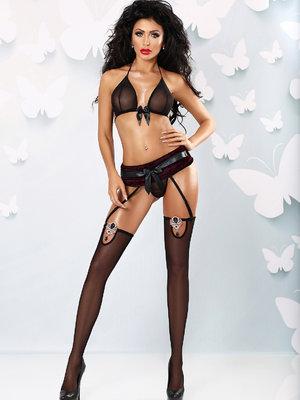 Set sexy Rubino - Negru