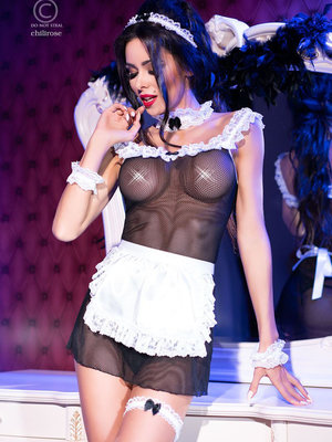 Costum French Kiss Maid