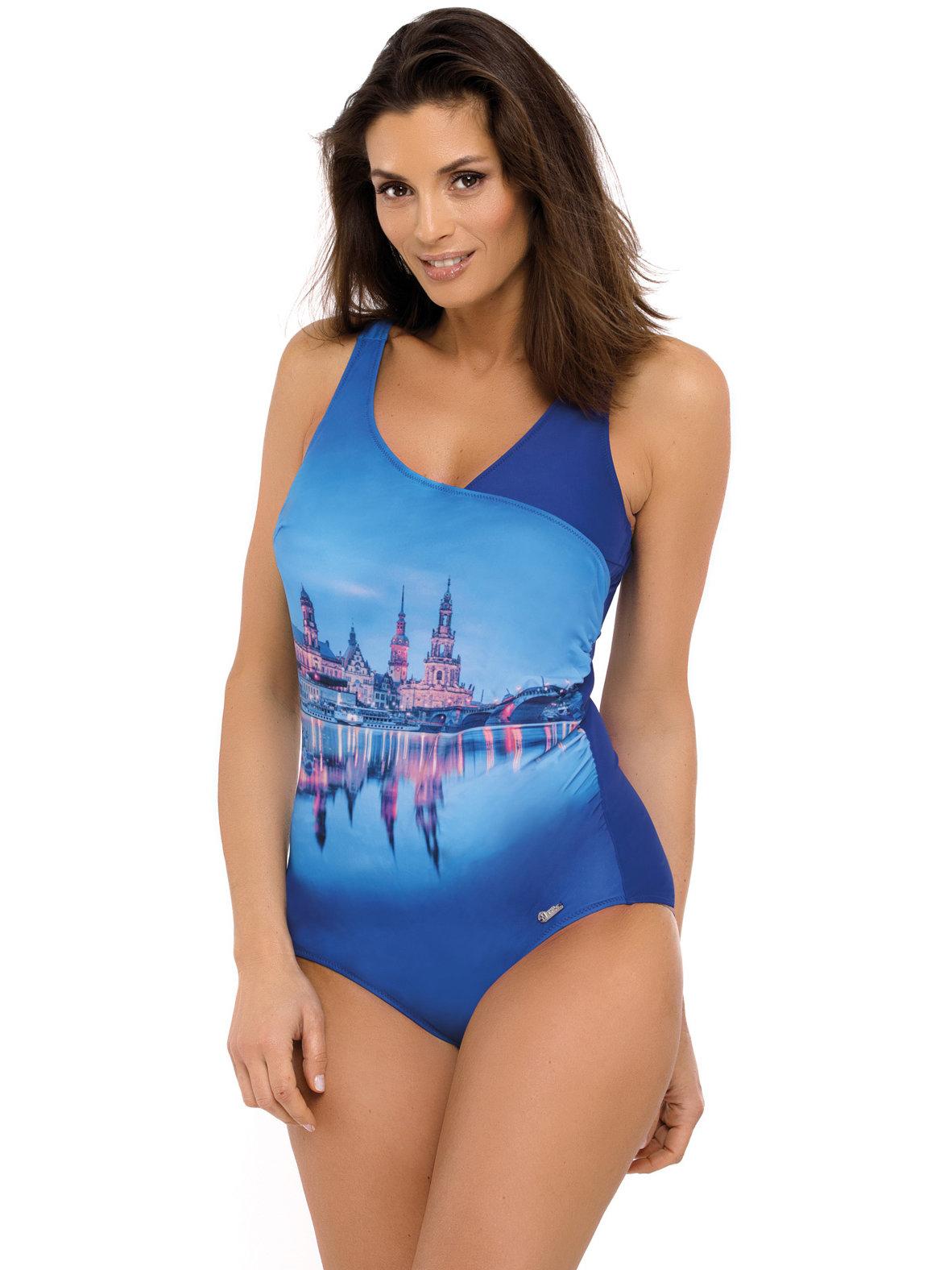 Costum de baie Daniella Spot-Blu Cina Albastru