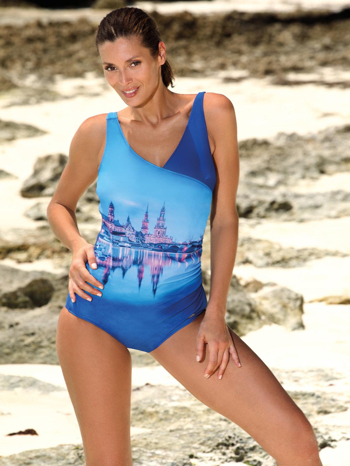 Costum de baie Daniella Spot - Blu Cina Albastru Daniella Spot-Blu Cina