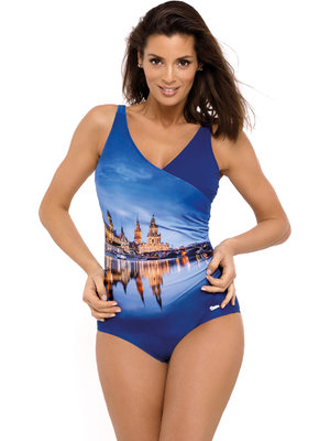 Costum de baie Daniella Blueberry