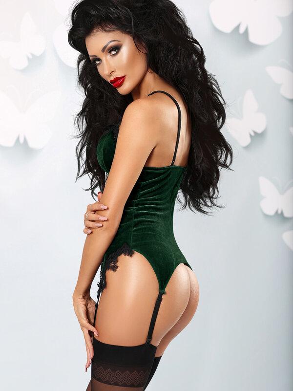 Corset Lolitta Wonderful verde
