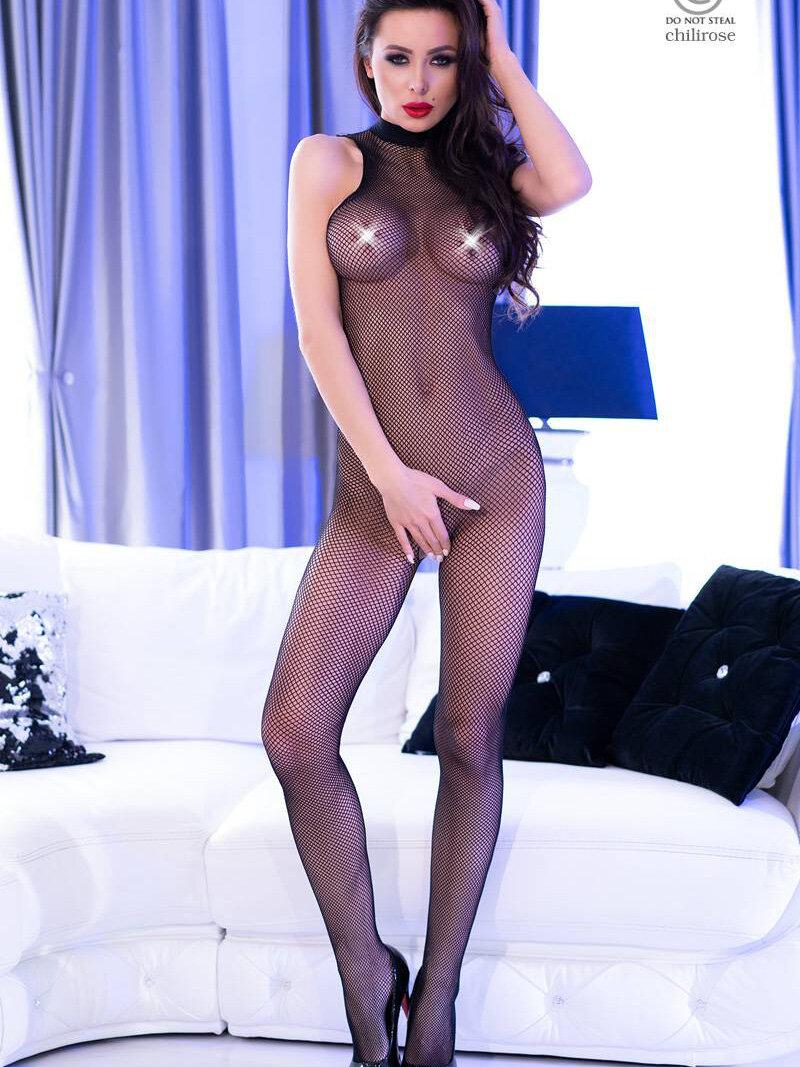 Chilirose Catsuit Karina Negru