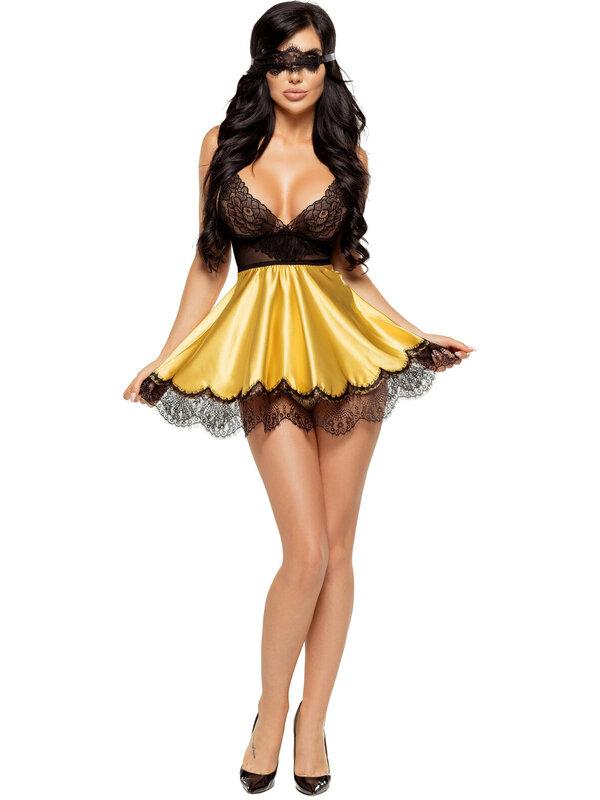 Chemise Beauty Night Eve chemise gold